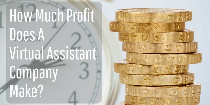 How Much Profit Does A Virtual  Assistant Company Make?