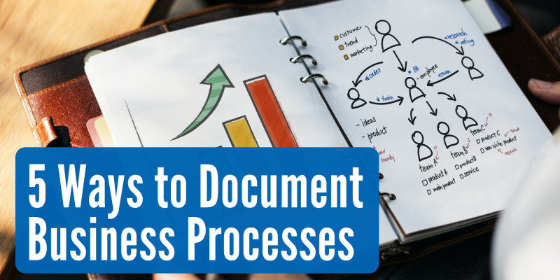 5 Ways to Document Business Processes