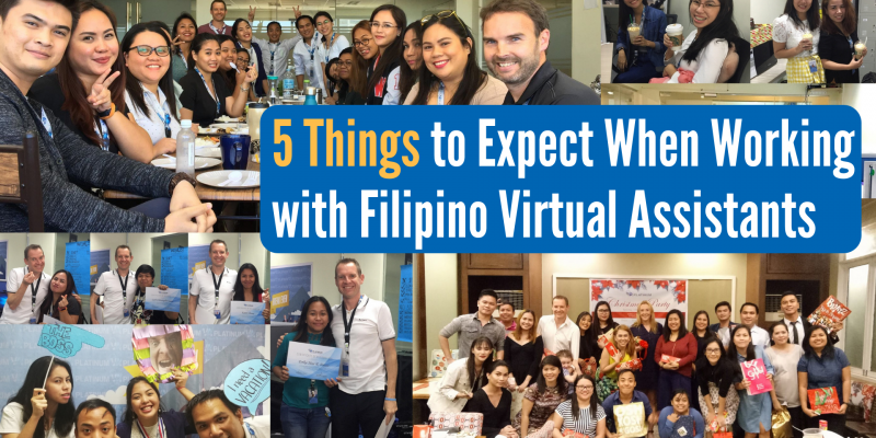 5 Things to Expect When Working with Filipino Virtual Assistants